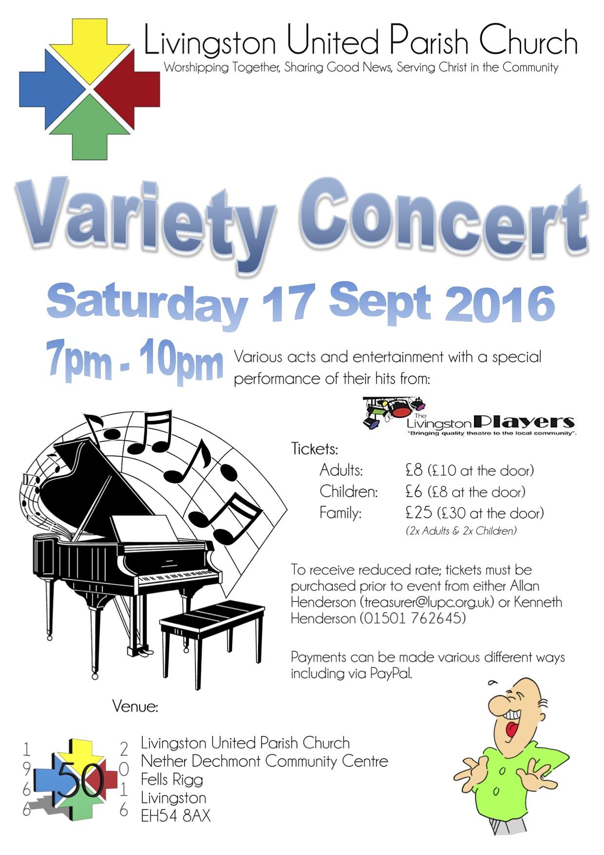 Livingston Variety Concert