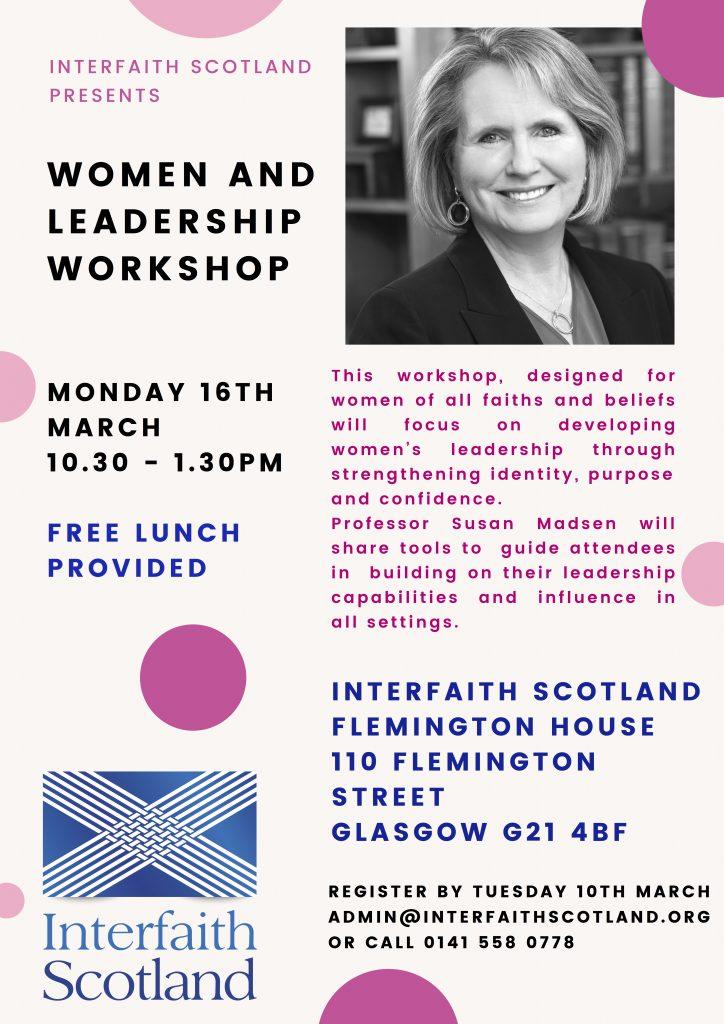 Women and Leadership Workshop