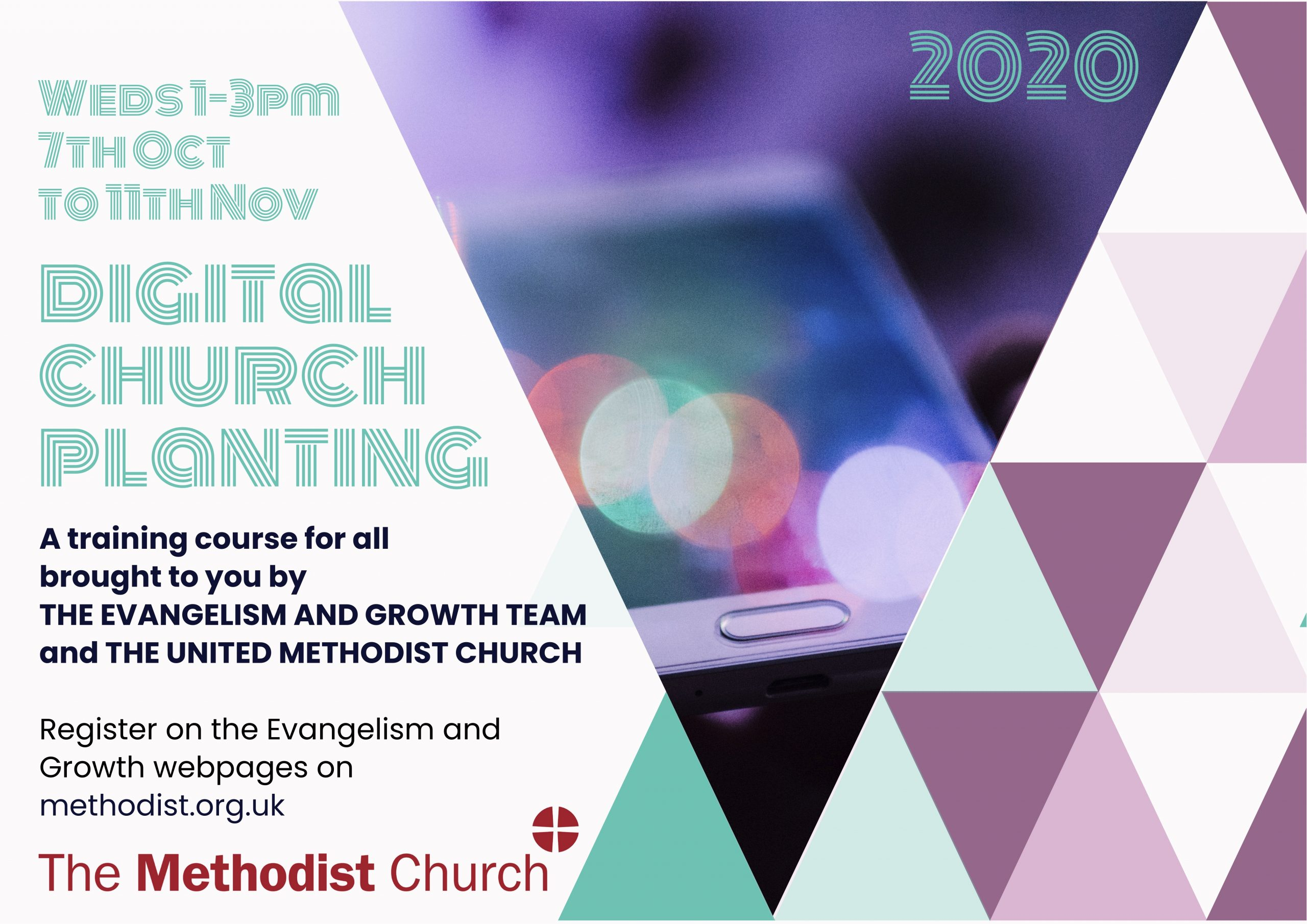 Digital Church Planting Flyer