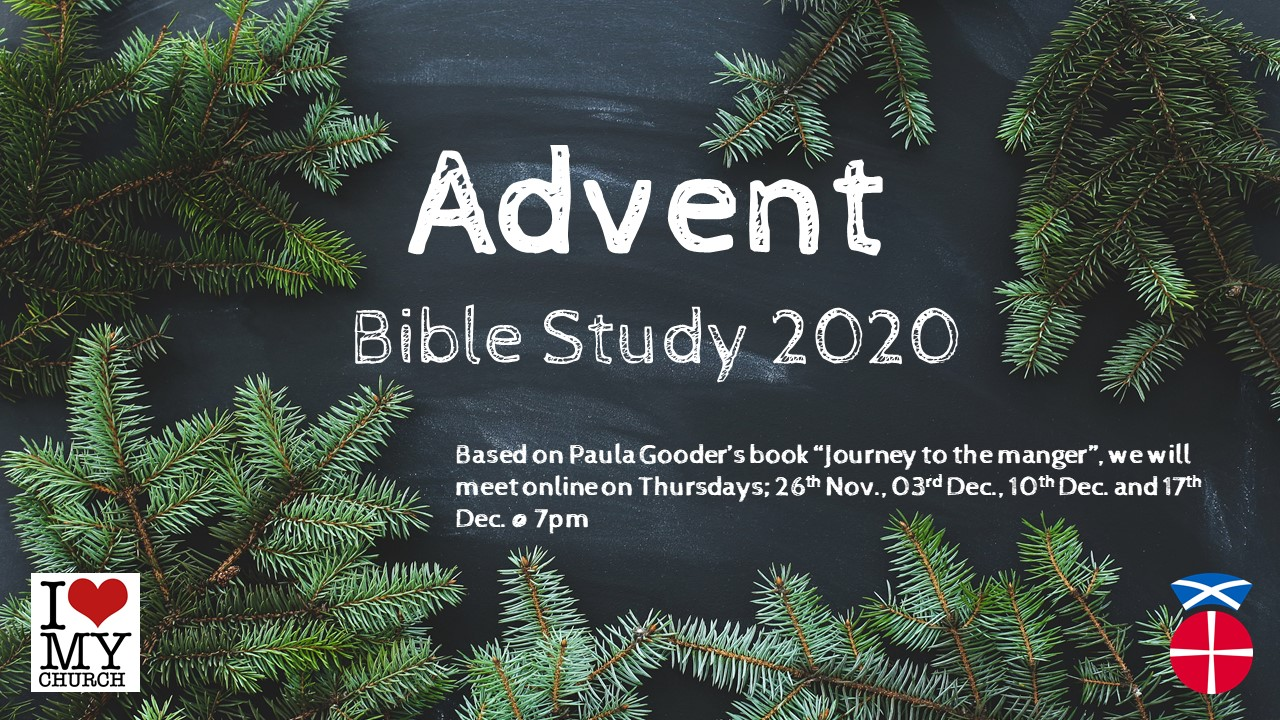 Advent bible study poster