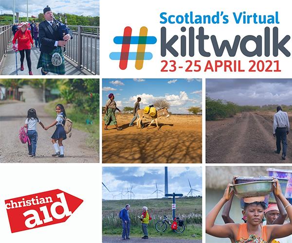 Kiltwalk poster