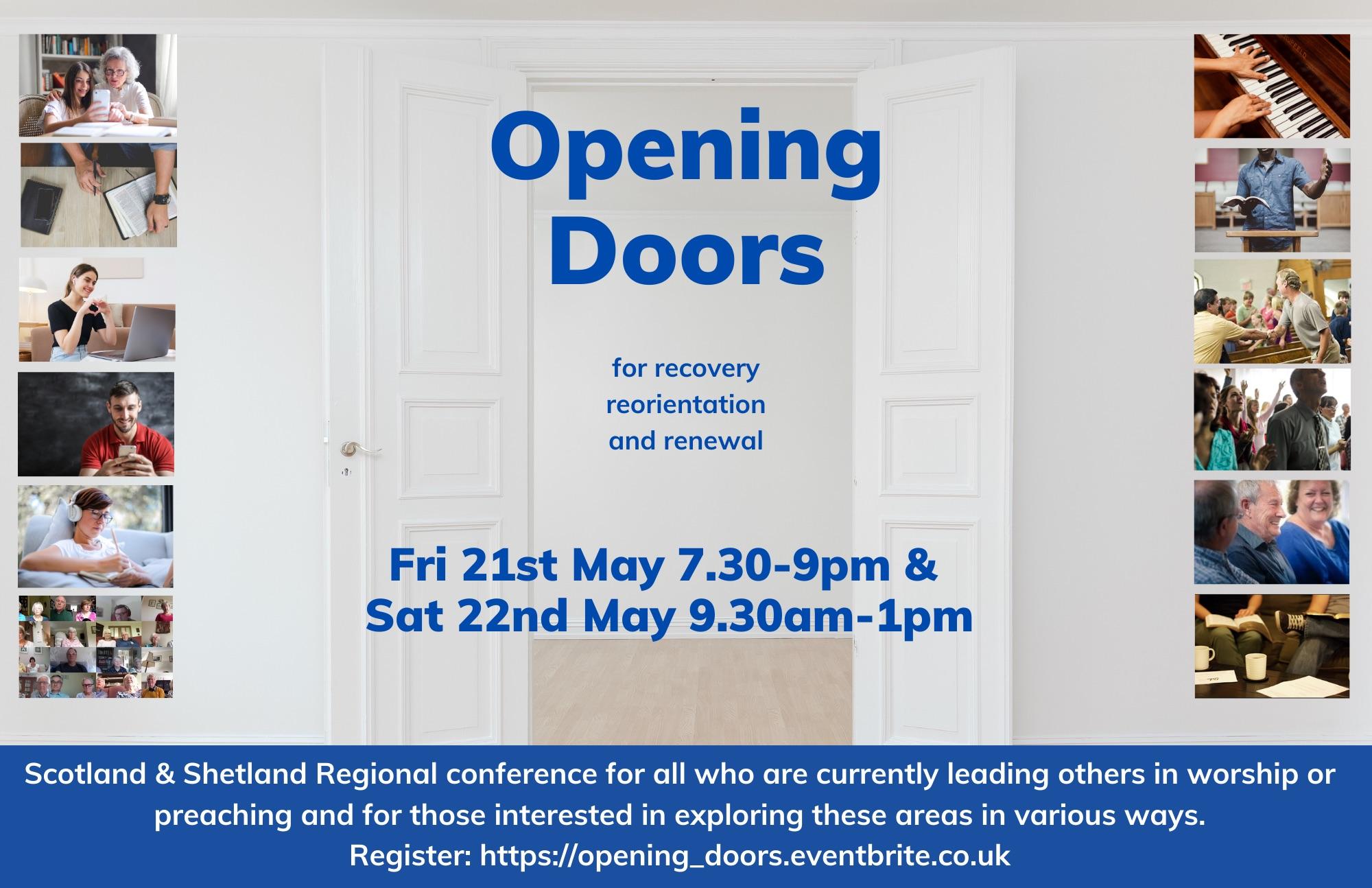 Opening Doors event