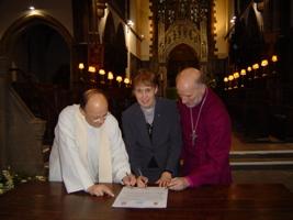 signing of EMU partnership
