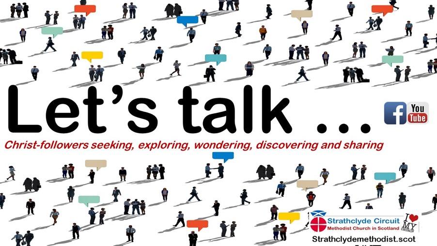 Let's talk webinar poster