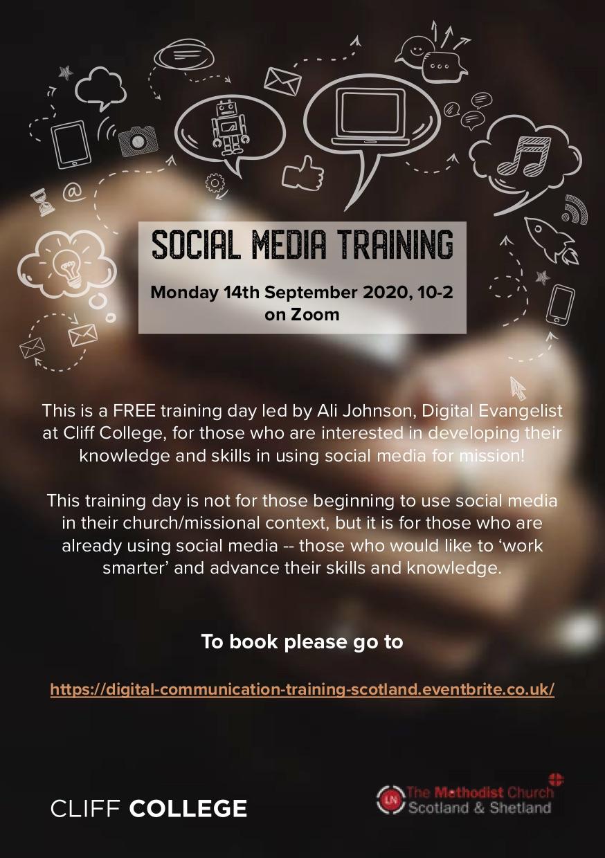 Digital Communication Training Scotland flyer