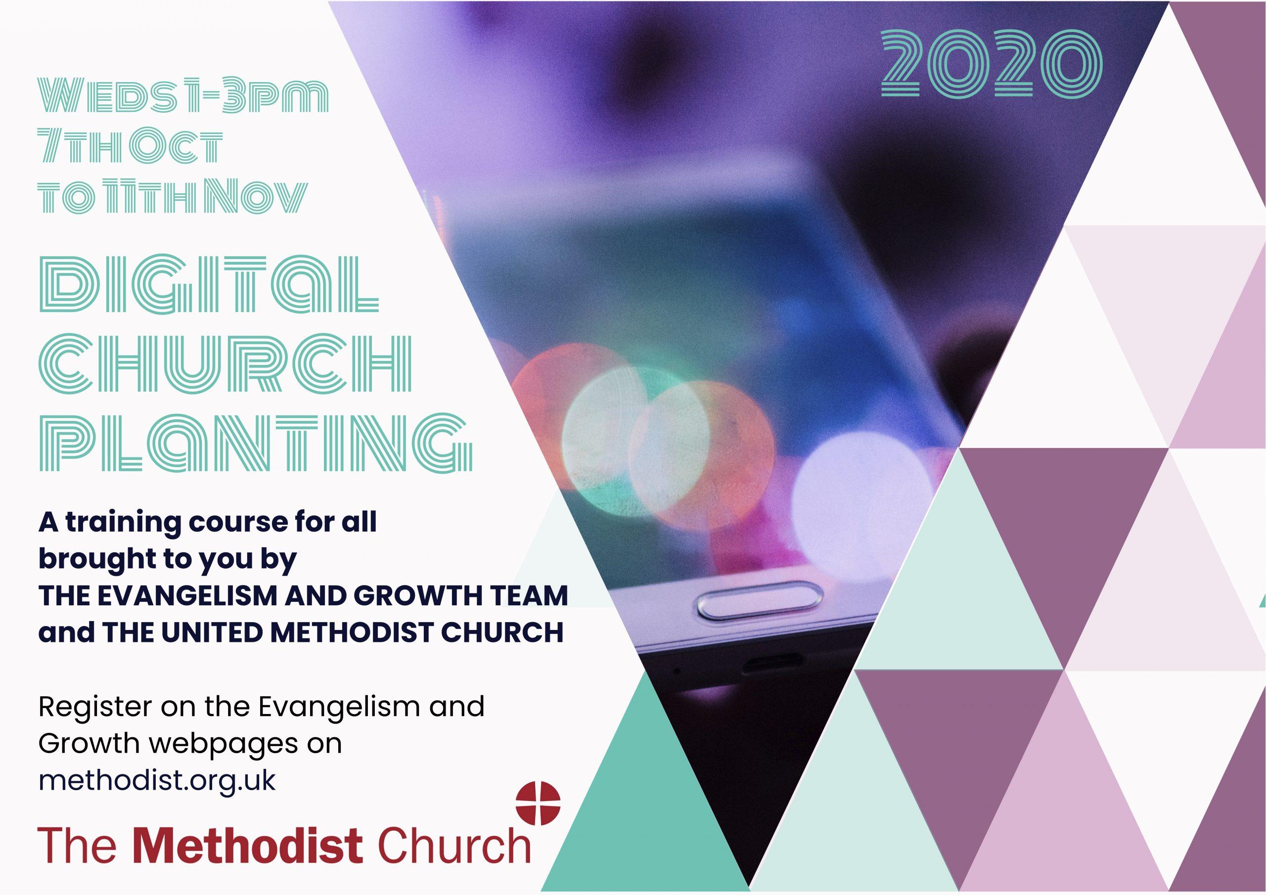 Digital Church Planting Flyer
