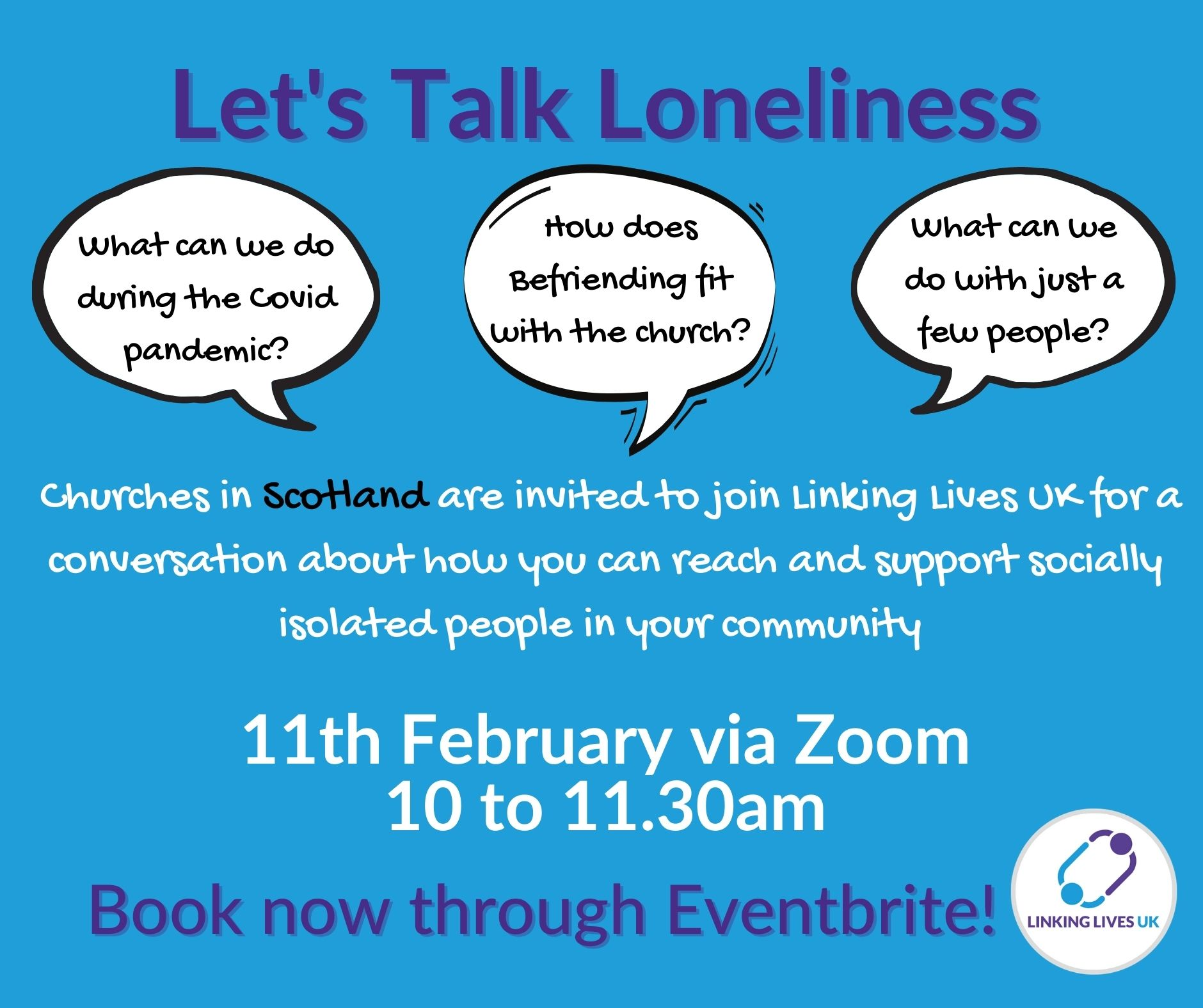 Loneliness webinar flyer