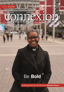 connexion magazine issue 23 cover, with picture of Rev Sonia Hicks