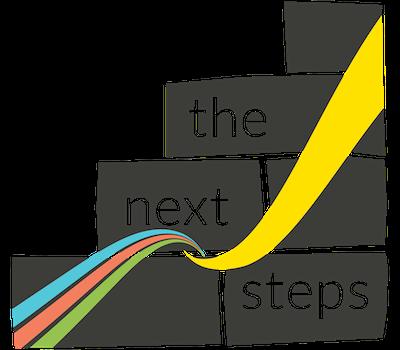 The next steps logo