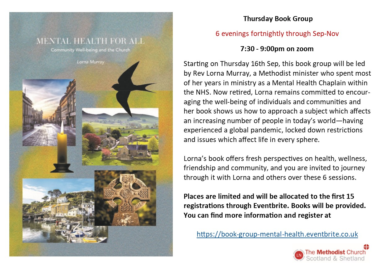 Book group flyer