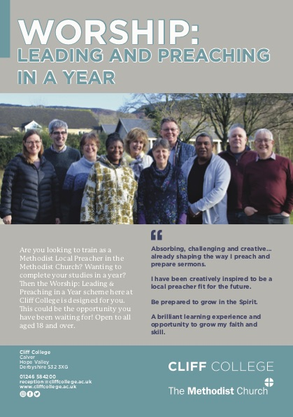 worship, leading and preaching in a year flyer