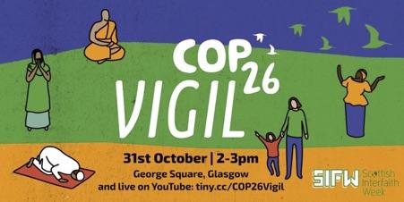 COP26 vigil poster