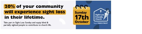 sight loss Sunday flyer